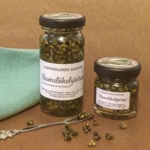 Ramslökshjärtan - picklade ramslöksfrön från Ludvigslunds Skafferi